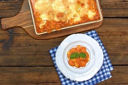 Gnocchi aus dem Ofen in Paprika - Tomaten - Sauce 21