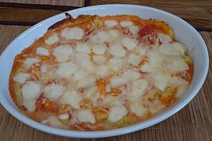 Gnocchi aus dem Ofen in Paprika - Tomaten - Sauce 50
