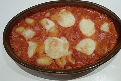 Gnocchi aus dem Ofen in Paprika - Tomaten - Sauce 40
