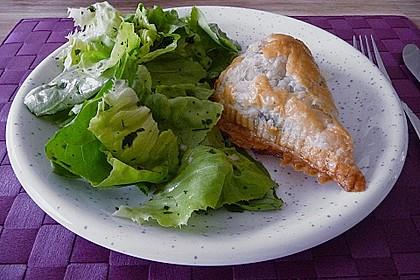 Blätterteig-Dreiecke mit Spinat und Feta 9