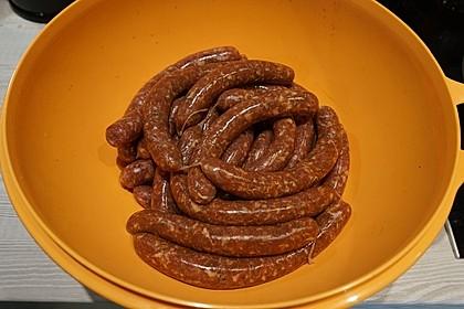 Bratwurst  (Pfälzer grob) 9