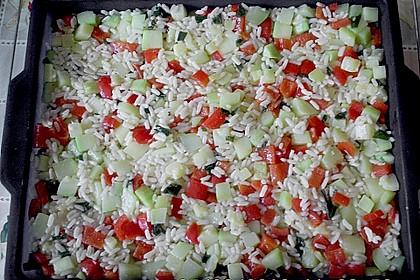Zucchini - Reis - Auflauf 3