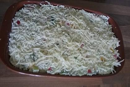 Zucchini - Reis - Auflauf