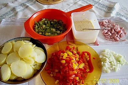 Blechkartoffeln mit Schinken 6