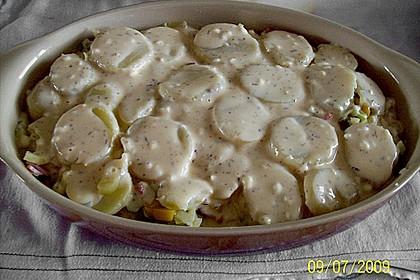 Blechkartoffeln mit Schinken 4