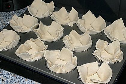 Herzhafte Blätterteig - Gehacktes - Muffins 18