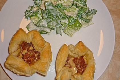 Herzhafte Blätterteig - Gehacktes - Muffins 9