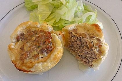 Herzhafte Blätterteig - Gehacktes - Muffins 1