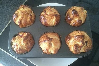 Herzhafte Blätterteig - Gehacktes - Muffins 11