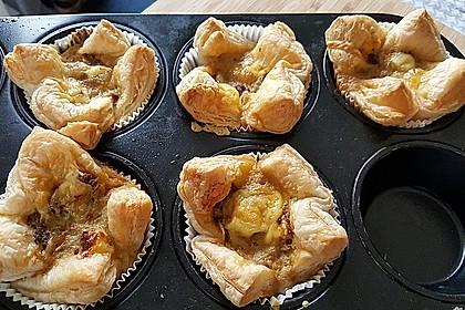 Herzhafte Blätterteig - Gehacktes - Muffins 3