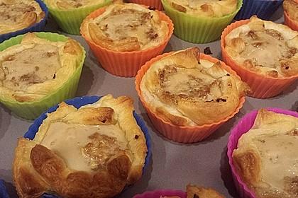 Herzhafte Blätterteig - Gehacktes - Muffins 5