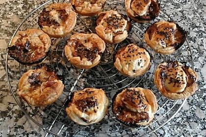Herzhafte Blätterteig - Gehacktes - Muffins 8