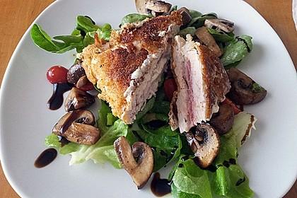Cordon bleu von der Pute mit Kräuterfrischkäse 2