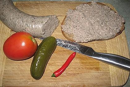 Leberwurst Pfälzer Art 1