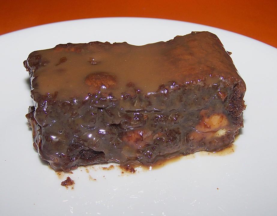 Twix White - Brownies mit Rahmkaramell - Topping (Rezept mit Bild ...