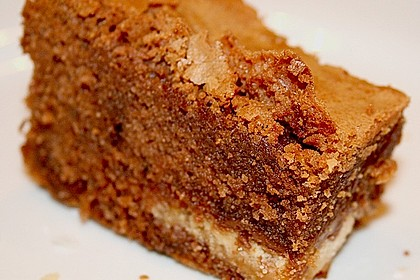 Twix White - Brownies mit Rahmkaramell - Topping 29