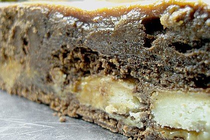 Twix White - Brownies mit Rahmkaramell - Topping 32