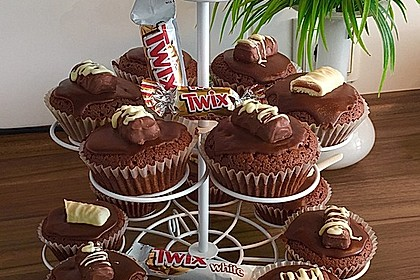 Twix White - Brownies mit Rahmkaramell - Topping 1