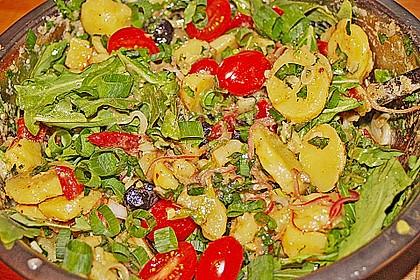 Mediterraner Kartoffelsalat 9