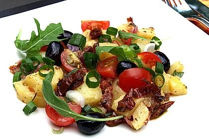 Mediterraner Kartoffelsalat 1