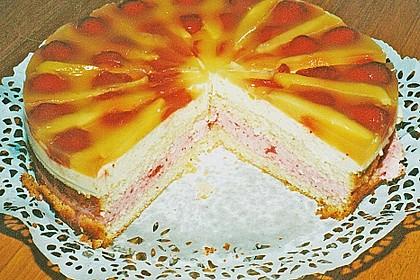 Erdbeer - Mango - Torte 3