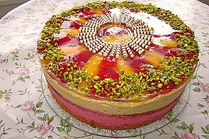 Erdbeer - Mango - Torte