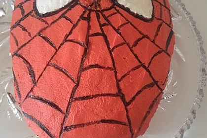 Lettas Spiderman - Motivtorte 18