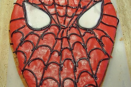 Lettas Spiderman - Motivtorte 16