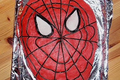Lettas Spiderman - Motivtorte 32