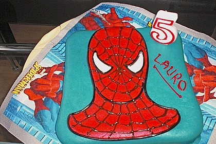 Lettas Spiderman - Motivtorte 3