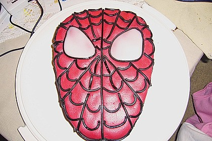 Lettas Spiderman - Motivtorte 25