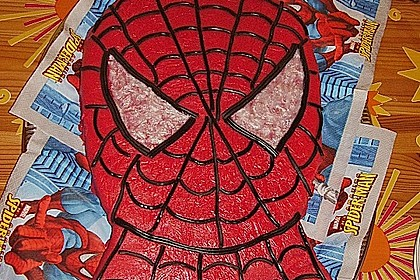 Lettas Spiderman - Motivtorte 31