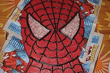 Lettas Spiderman - Motivtorte 22
