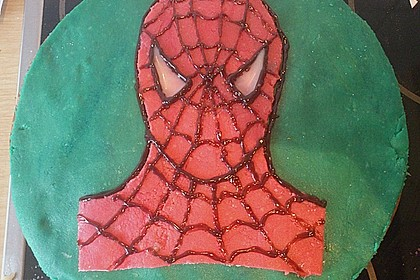 Lettas Spiderman - Motivtorte 19