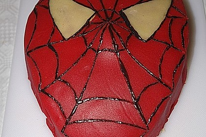 Lettas Spiderman - Motivtorte 26