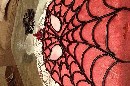 Lettas Spiderman - Motivtorte 40