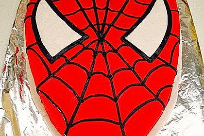 Lettas Spiderman - Motivtorte