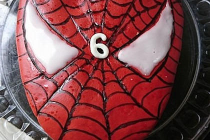 Lettas Spiderman - Motivtorte 9
