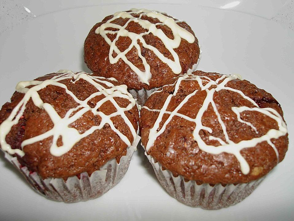 schokoladen himbeer muffins rezept mit bild. Black Bedroom Furniture Sets. Home Design Ideas