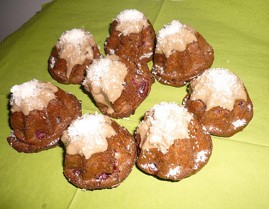 schokoladen himbeer muffins von bushcook. Black Bedroom Furniture Sets. Home Design Ideas