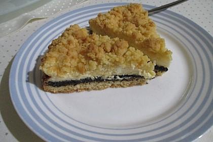 Mohn - Schmand - Kuchen