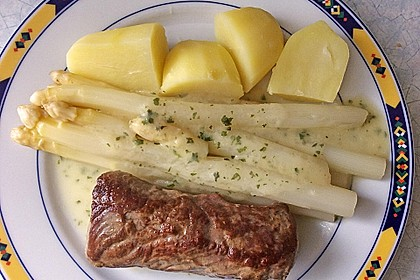Spargel in Basilikum - Spargel - Sauce 11