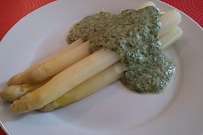 Spargel in Basilikum - Spargel - Sauce 16