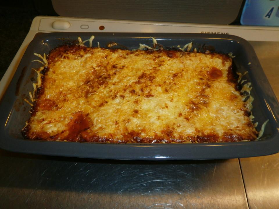 schnelle lasagne von mareikaeferchen chefkoch de