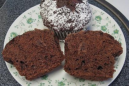 Schokoladen Muffins für Eilige 1