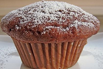Schokoladen Muffins für Eilige 2