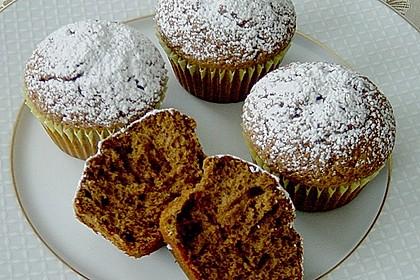 Schokoladen Muffins für Eilige 6