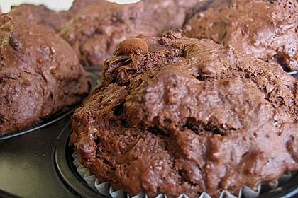 Schokoladen Muffins für Eilige 25