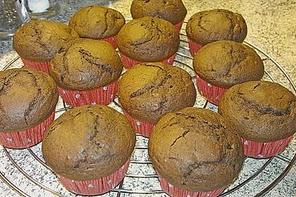 Schokoladen Muffins für Eilige 15