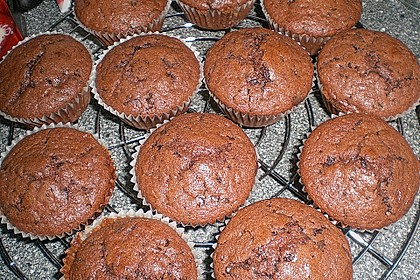 Schokoladen Muffins für Eilige 7